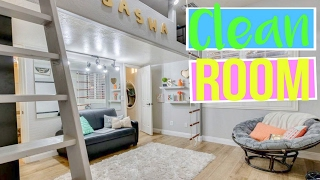 How to Keep Your Room Clean and Organized! | Sasha Morga