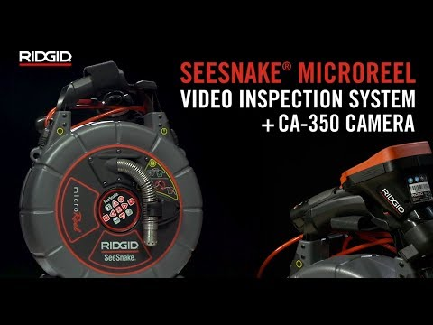 RIDGID SeeSnake® microReel Video Inspection System + CA-350 Camera