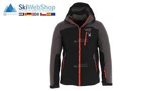 Spyder, Flywheel, ski-jas, heren, zwart/polar grijs