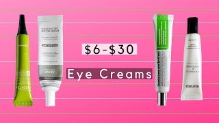 My Favorite K-Beauty Eye Creams For Every Budget!   $6-$30