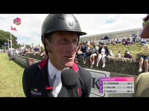 Gatcombe 2016 WINNER Oliver Townend & Cillnabradden EVO