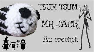 Tuto Crochet MR Jack Skellington Pattern  - Disney Tsum Tsum Pattern - Spécial Halloween