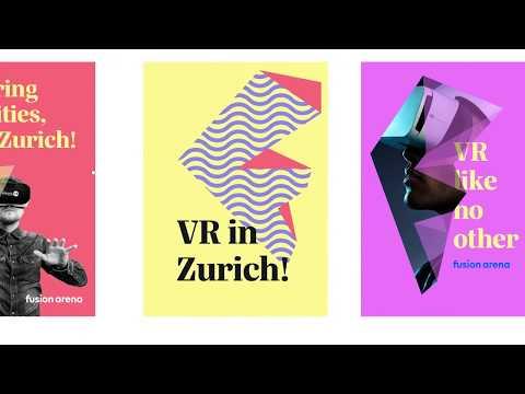 Virtual experience brand - Fusion Arena - Zurich