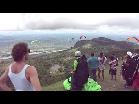 Final do Campeonato Mundial de Paraglider Governador Valadares