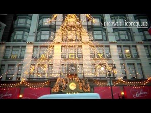 Nova Iorque já está preparada para as festas de fim de ano