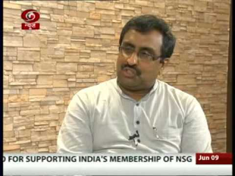 Spl. Interview with BJP's National General Secretary Ram Madhav