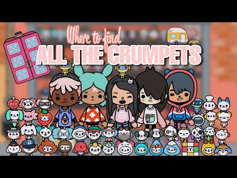 FINDING ALL CRUMPETS in Toca Life World