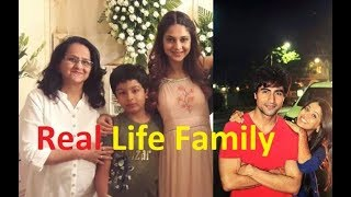 Real Life Family Of Bepannaah Actors With Title Song