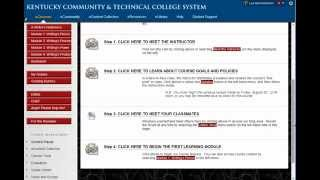 2014 Blackboard Exemplary Course Tour: ENG 101 Academic Writing