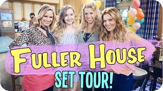 Fuller House Set Tour & Meeting the Cast!