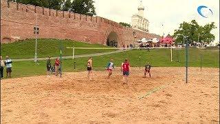 Турниром по пляжному волейболу завершается спартакиада профсоюзов