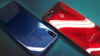 Galaxy M20 vs Realme 2 - Which Should You Buy ?