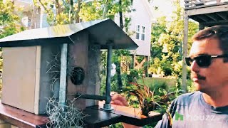Birdhouse Battle: These Incredible Birdhouses Were Made From Recycled Materials