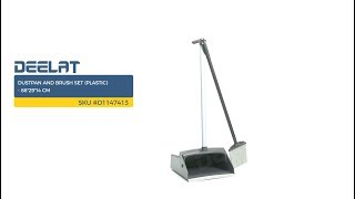 Dustpan and Brush Set (Plastic) - 88*29*14 cm     SKU #D1147413