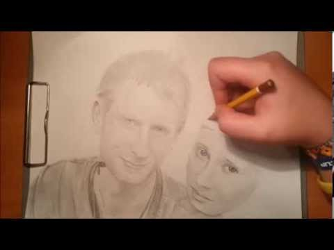 Speed art - Michael a Lucie
