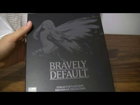 Bravely Default Collector's Edition Unboxing