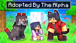Adopted By The ALPHA Wolf In Minecraft!