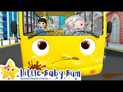 Wheels on The Bus | Wheels on The Bus Compilation +More Nursery Rhymes | Little Baby Bum