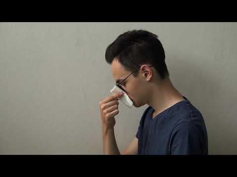 Férgek a fülében egy ember tüneti kezelést