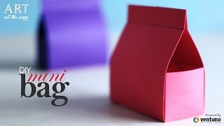 How To Make: Mini Bag   Do It Yourself   Craft Tutorial