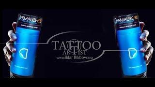 Уход за татуировкой/Заживление тату/DERMALIZE TUTORIAL Полный обзор и инструкция по заживляющей пленке для тату Suprasorb F и Dermalize PRO Dermalize PRO -