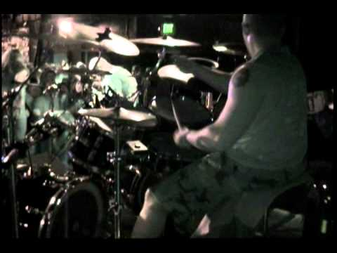 Severed Savior Drums - Inverted and Inserted @ The Pound 2006 - Drum Cam