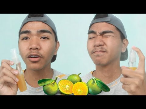 Pampaputi facial mask ng lemon at peroxide