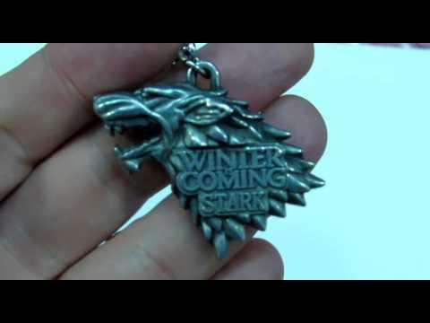 """Llavero Casa Stark Juego de tronos en """"GearBest"""""""