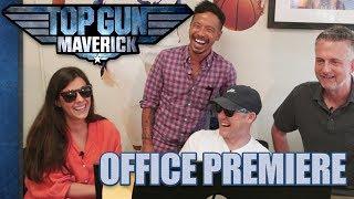 'Top Gun: Maverick' Trailer Reaction | Office Premieres | The Ringer