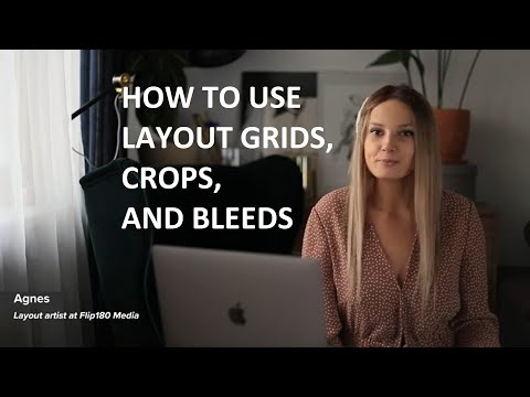 Magazine design tutorial: layout grid, crops, and bleed