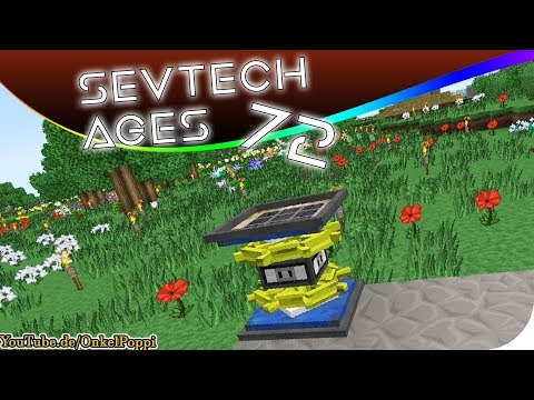 SevTech: Ages EP22 ViesCraft Airships + Windmill Power