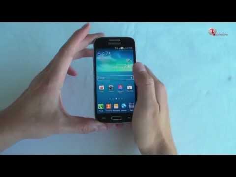 Youtube Video Samsung Galaxy S4 Mini DuoS i9192 in schwarz