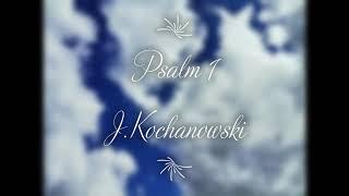 Psalm 1 – J Kochanowski