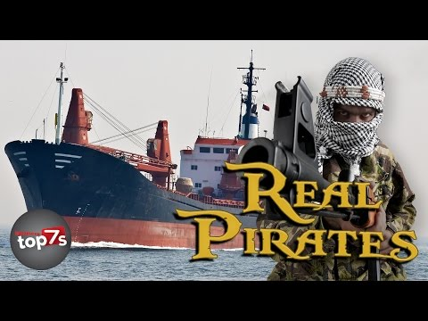 Top 7 Crazy Facts About Real Life Pirates (Somali Pirates) -  InterestingTop7s