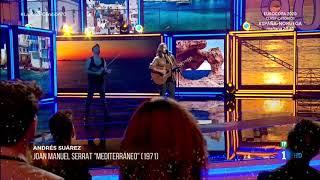 Andrés Suárez-Mediterráneo(de Joan Manuel Serrat). En Directo 22/03/19