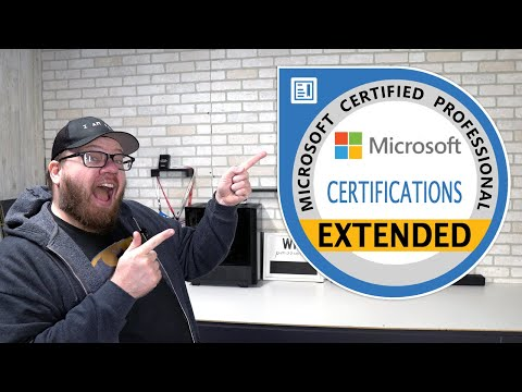 Microsoft Certifications Extended - Update March 2020 - YouTube
