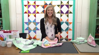 REPLAY: Sew Up A Self-binding Baby Blanket With Misty!