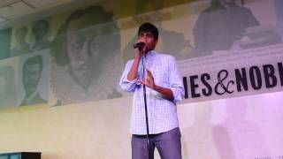 Anoop Desai - Goodbye Barnes and Noble, NYC June 8