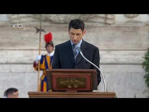 Procession et messe à Sainte-Marie-Majeure