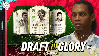 SO MANY MOMENTS ICONS!! | FIFA 20 Draft to Glory #7