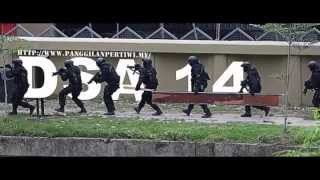 Demonstrasi Menyelamat Tebusan Oleh ULK 11 RGK Semasa DSA 2014