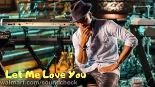 Ne-Yo let me love you live Walmart soundcheck