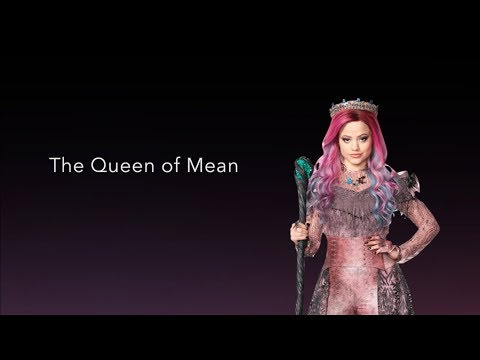 """Queen of Mean - LYRICS   Sarah Jeffery """"Descendants 3"""""""