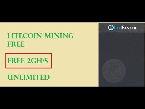 New Litecoin mining site 2 Gh/s free Ltcfaster com 3000 Ltc daily