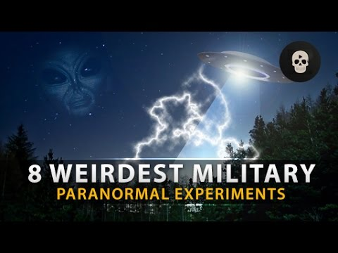 8 Weirdest Military Paranormal Experiments