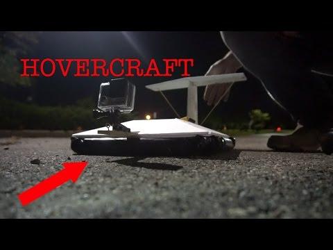 Hovercraft GoPro glide camera rig