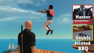 HITMAN Sapienza Challenges Double Jointed,BBQ Season,Hold my Hair,My Name is Hurl,Master Assassin