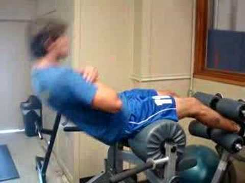 Roman Chair Plank And Sit Up Exercise Com