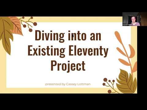 Screenshot from Cassey's talk