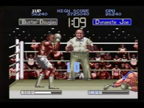 """James """"Buster"""" Douglas Knock Out Boxing Sega Genesis Speed Run"""